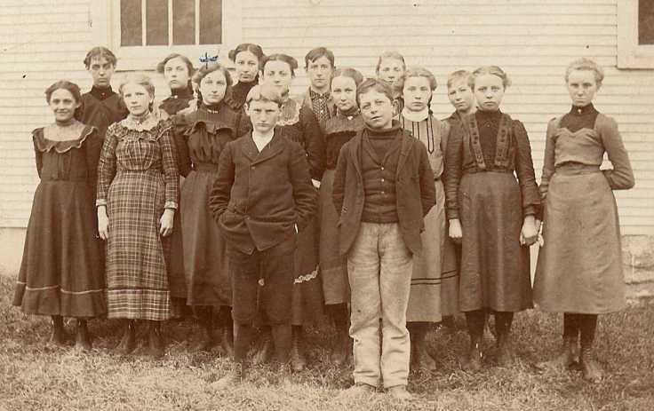 1903 Confirmation Class of St. Paul's Church