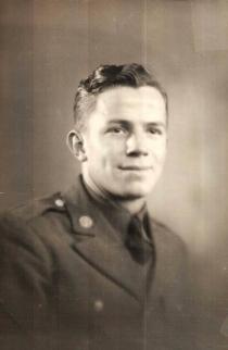 Walter Erickson, Pvt. First Class, U.S. Army