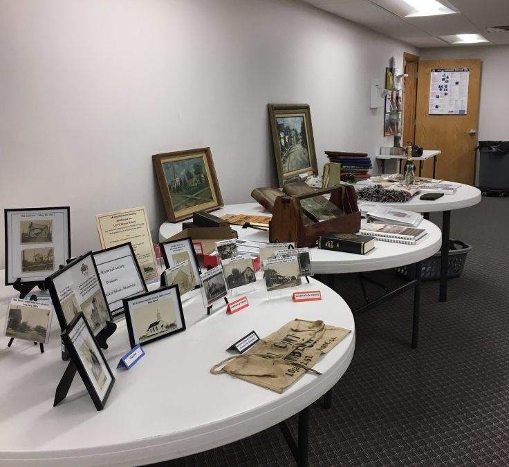 Traveling Monee Exhibit and Donated Items