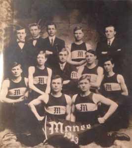 Monee Basketball team