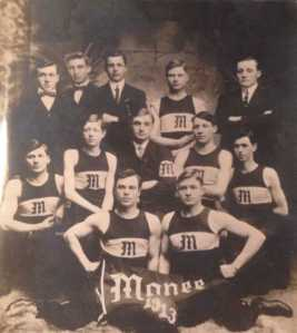 Monee Basketball team